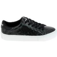 Παπούτσια Γυναίκα Χαμηλά Sneakers No Name Arcade Print Kobra Noir Vert Fonce Black