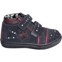 Παπούτσια Κορίτσι Ψηλά Sneakers Didiblu sneakers camoscio strass Grigio
