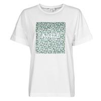 Υφασμάτινα Γυναίκα T-shirt με κοντά μανίκια Aigle RAOPTELIB Άσπρο
