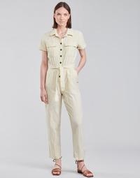 Υφασμάτινα Γυναίκα Ολόσωμες φόρμες / σαλοπέτες Roxy BEACH WONDERLAND Άσπρο