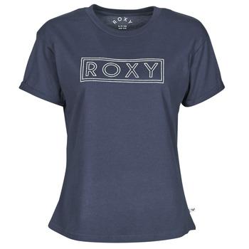 Υφασμάτινα Γυναίκα T-shirt με κοντά μανίκια Roxy EPIC AFTERNOON WORD Marine