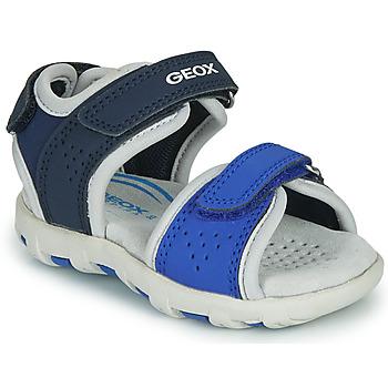 Παπούτσια Αγόρι Σανδάλια / Πέδιλα Geox B SANDAL PIANETA Μπλέ
