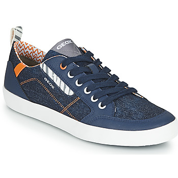 Xαμηλά Sneakers Geox JR KILWI GARÇON ΣΤΕΛΕΧΟΣ: Δέρμα και συνθετικό & ΕΠΕΝΔΥΣΗ: & ΕΣ. ΣΟΛΑ: & ΕΞ. ΣΟΛΑ: Συνθετικό