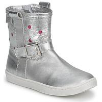 Παπούτσια Κορίτσι Μπότες Pinocchio  Ασημι / Fucia