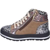 Παπούτσια Κορίτσι Sneakers Didiblu sneakers pelle sintetica glitter Marrone