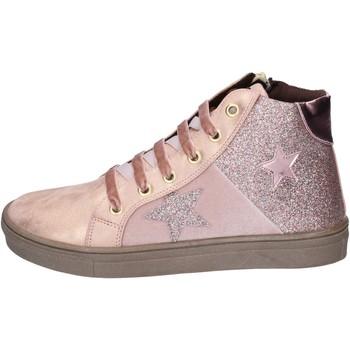 Παπούτσια Κορίτσι Sneakers Asso sneakers pelle sintetica glitter rosa