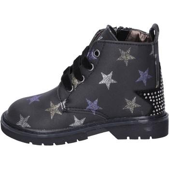 Παπούτσια Κορίτσι Μποτίνια Asso stivaletti pelle sintetica nero