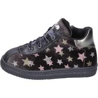 Παπούτσια Κορίτσι Sneakers Asso sneakers velluto pelle sintetica grigio