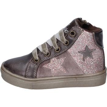 Παπούτσια Κορίτσι Sneakers Asso sneakers pelle sintetica glitter bronzo
