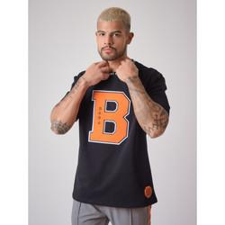 Υφασμάτινα Άνδρας T-shirt με κοντά μανίκια Project X Paris  Black