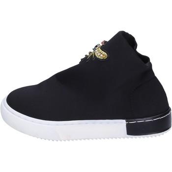 Παπούτσια Κορίτσι Sneakers Joli sneakers tessuto Nero