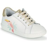 Παπούτσια Κορίτσι Χαμηλά Sneakers GBB EDONIA Άσπρο