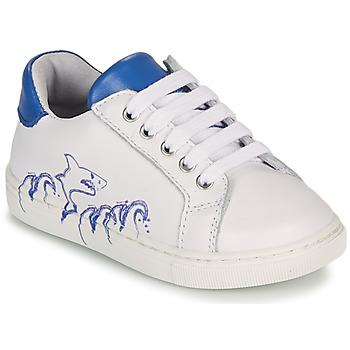 Παπούτσια Αγόρι Χαμηλά Sneakers GBB KARAKO Άσπρο