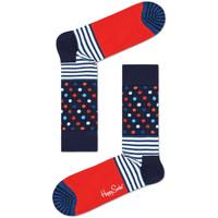 Αξεσουάρ Άνδρας Κάλτσες Happy Socks Stripes and dots sock Πολύχρωμο