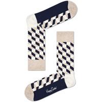 Αξεσουάρ Άνδρας Κάλτσες Happy Socks Filled optic sock Πολύχρωμο