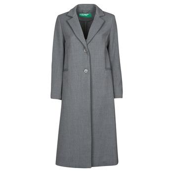Υφασμάτινα Γυναίκα Παλτό Benetton  Grey