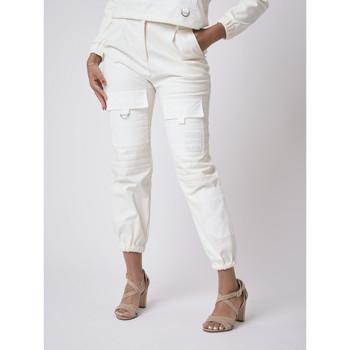 Υφασμάτινα Γυναίκα Παντελόνια Project X Paris  Άσπρο