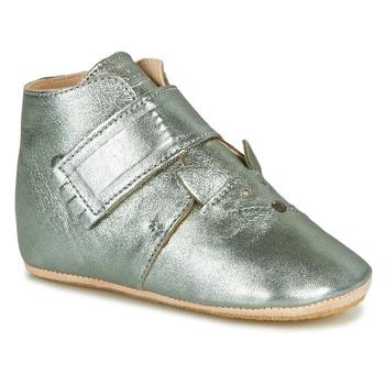 Παπούτσια Παιδί Παντόφλες Easy Peasy KINY CHAT MOU GRIS VERT MOU/PATIN