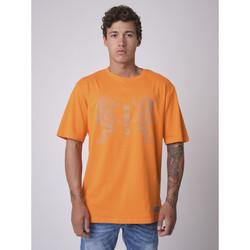 Υφασμάτινα Άνδρας T-shirt με κοντά μανίκια Project X Paris  Orange