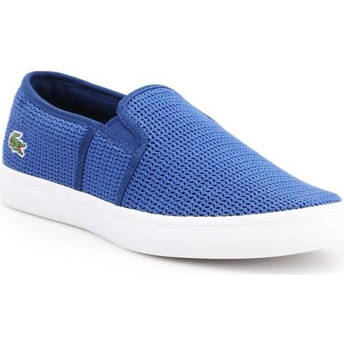 Παπούτσια Γυναίκα Slip on Lacoste Gazon 7-33CAW1074125 blue