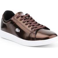 Παπούτσια Γυναίκα Χαμηλά Sneakers Lacoste Carnaby Evo 7-30SPW4110DB2 brown