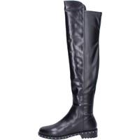 Παπούτσια Γυναίκα Μπότες Elvio Zanon BK374 Μαύρος