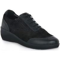 Παπούτσια Γυναίκα Χαμηλά Sneakers Grunland NERO DAPE Nero