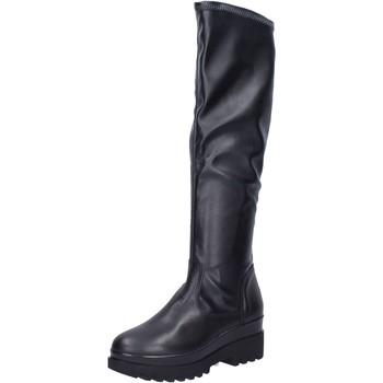 Παπούτσια Γυναίκα Μπότες Geste stivali pelle sintetica Nero