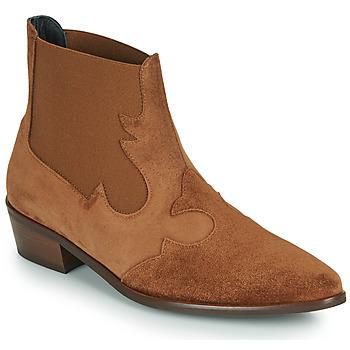 Παπούτσια Γυναίκα Μπότες Fericelli NANTIAG Camel