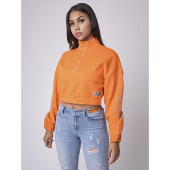 Υφασμάτινα Γυναίκα Φούτερ Project X Paris  Orange