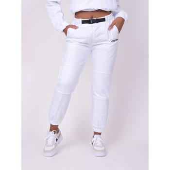 Υφασμάτινα Γυναίκα Φόρμες Project X Paris  Άσπρο