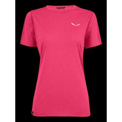 Υφασμάτινα Γυναίκα T-shirt με κοντά μανίκια Salewa Pedroc 3 DRY W S/S TEE 27726-6385 pink