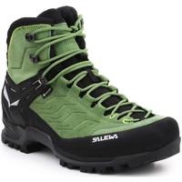 Παπούτσια Άνδρας Πεζοπορίας Salewa MS MTN Trainer MID GTX 63458-5949 black, green