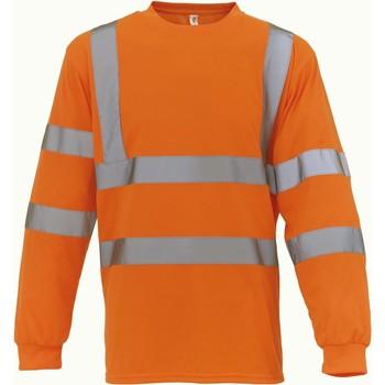 Υφασμάτινα Μπλουζάκια με μακριά μανίκια Yoko T-Shirt manches longues  Haute Visibilité orange