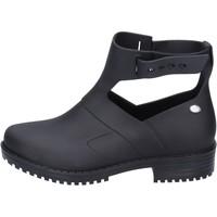 Παπούτσια Γυναίκα Μποτίνια Mel Μπότες αστραγάλου BK409 Μαύρος