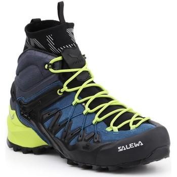 Παπούτσια Άνδρας Πεζοπορίας Salewa MS Wildfire Edge MID GTX 61350-8971 green, navy