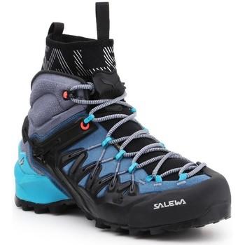 Παπούτσια Γυναίκα Πεζοπορίας Salewa WS Wildfire Edge MID GTX 61351-8975 navy , grey, black