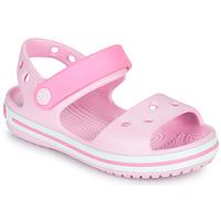 Παπούτσια Κορίτσι Σανδάλια / Πέδιλα Crocs CROCBAND SANDAL KIDS Ροζ