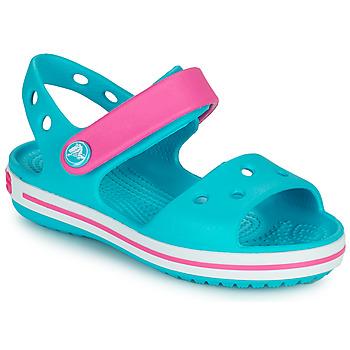 Παπούτσια Κορίτσι Σανδάλια / Πέδιλα Crocs CROCBAND SANDAL Mπλε