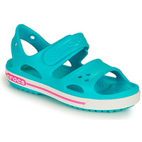 Παπούτσια Κορίτσι Σανδάλια / Πέδιλα Crocs CROCBAND II SANDAL PS Μπλέ / Ροζ