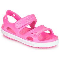 Παπούτσια Κορίτσι Σανδάλια / Πέδιλα Crocs CROCBAND II SANDAL PS Ροζ