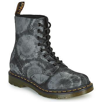 Παπούτσια Γυναίκα Μπότες Dr Martens 1460 PASCAL Black / Grey