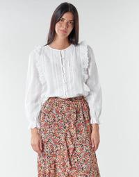 Υφασμάτινα Γυναίκα Μπλούζες Betty London NIAMAIM Άσπρο