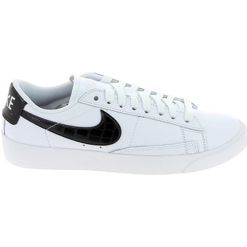 Xαμηλά Sneakers Nike Blazer Low Blanc Noir 1009812400014 [COMPOSITION_COMPLETE]