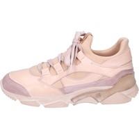 Παπούτσια Γυναίκα Ψηλά Sneakers Moma Αθλητικά BK453 Ροζ