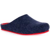 Παπούτσια Γυναίκα Παντόφλες Grunland BLU EURO Blu