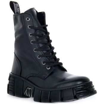 Παπούτσια Μπότες New Rock WALL ASA LUXOR NEGRO Nero