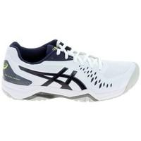 Παπούτσια Άνδρας Tennis Asics Gel Challenger 12 Blanc Noir Άσπρο