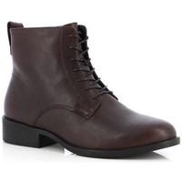 Παπούτσια Γυναίκα Μποτίνια Vagabond Shoemakers Cary Espresso Booties Brown