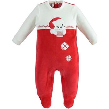 Υφασμάτινα Παιδί Ολόσωμες φόρμες / σαλοπέτες Ido 41173 Rosso/panna